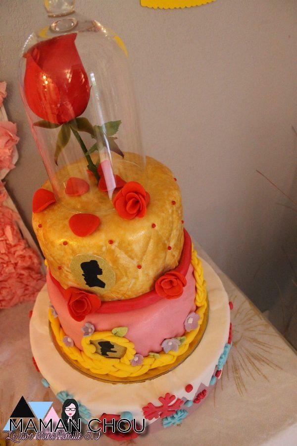 Recette du g teau disney princesses de l 39 anniversaire de ninie maman chou - Gateau anniversaire disney ...
