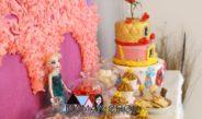 Recette du gâteau Disney Princesses de l'anniversaire de Ninie!