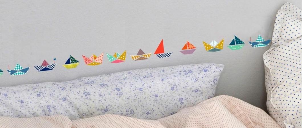 Sélection déco pour les kids: Les petits bateaux dans l'eau…