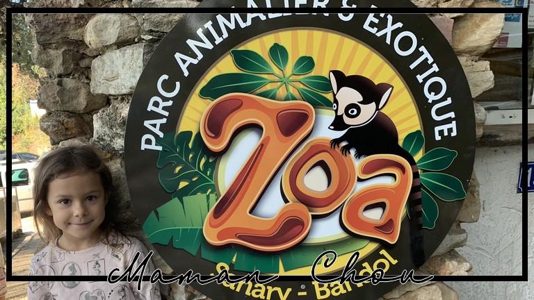Promenade au Zoa Bandol pour les vacances de la Toussaint!