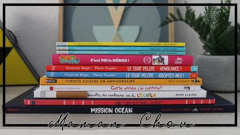 Des lectures pour les vacances!