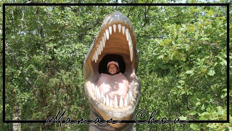 Un zoo avec des dinosaures ça existe? Oui à PrehistoDino Parc!