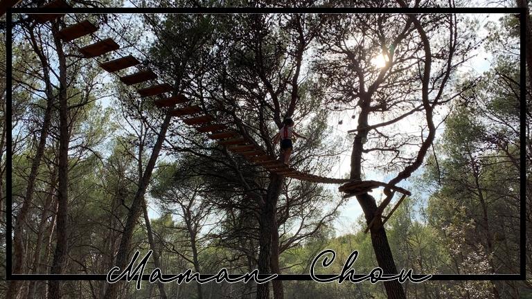 Accrobranche: Le royaume des arbres, Le Castellet, un paradis pour les kids