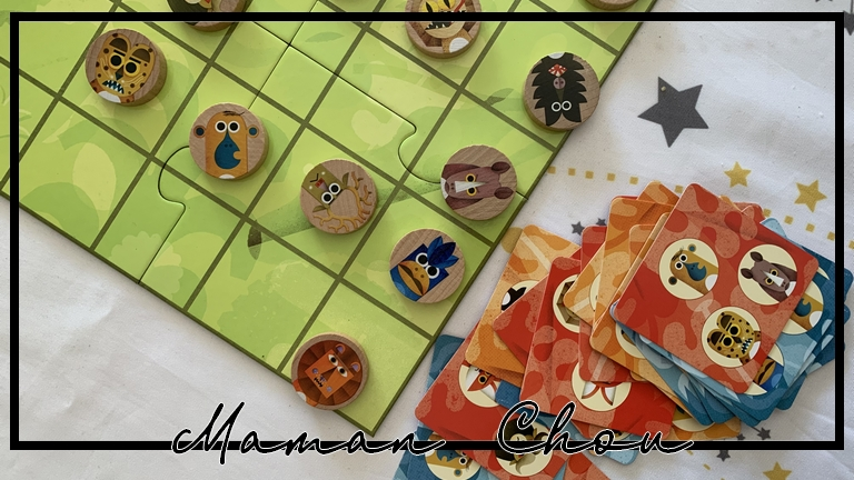 Animouv: aligne trois animaux et remporte la partie!