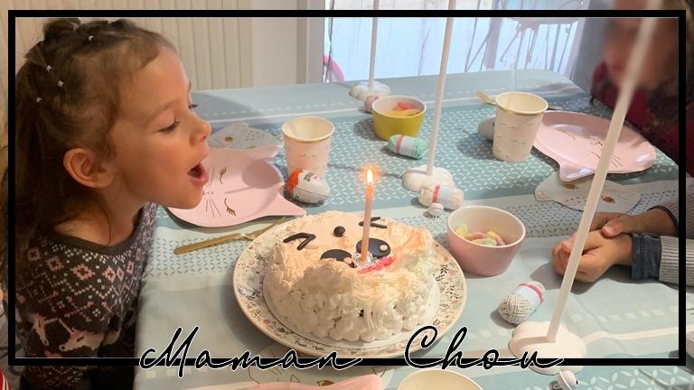 [7 ans de Ninie] Un anniversaire avec ses copains et le point sur les préparatifs de son anniversaire en famille