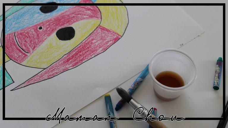 A la manière de Joan Miro : le portrait de Ninie