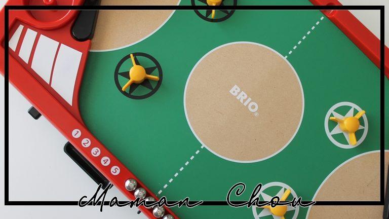 La gamme de jeux BRIO s'agrandit avec le flipper duo challenge !