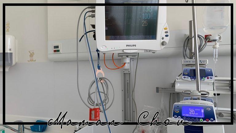 Hospitalisation et attente interminable… Quand mon bébé ne va pas bien…