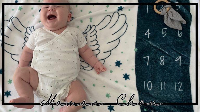 Trotro a 2 mois : un bébé qui s'éveille !