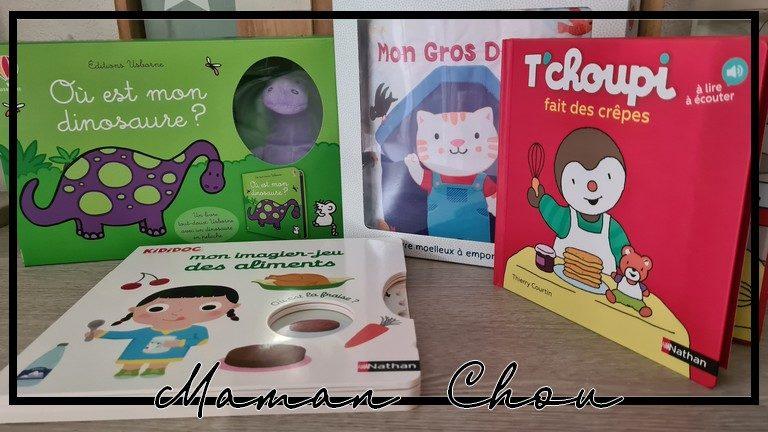 Ma sélection de livres pour les petits