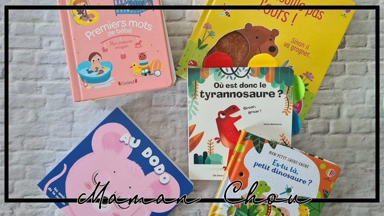 [BIBLIOTHÈQUE 2021] Les premiers livres de bébé