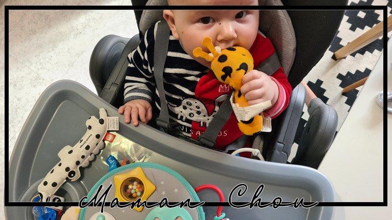 Test chaise haute Bébé Confort Minla