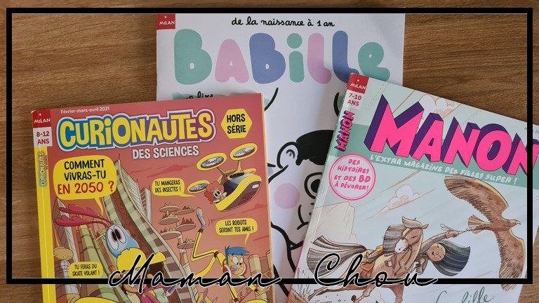 Des abonnements magazines pour les kids avec Milan Presse