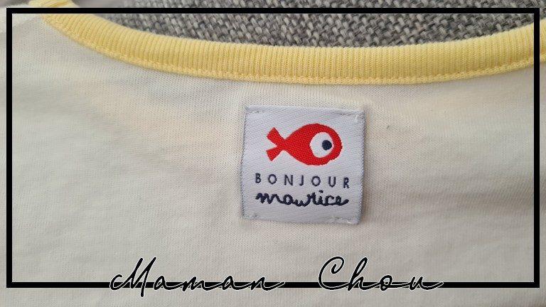 Bonjour Maurice, le petit poisson plein de charme pour l'armoire des kids !