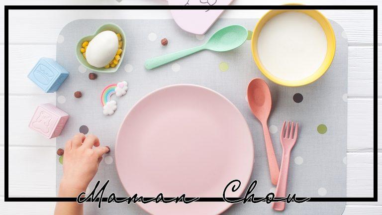 Sélection de jolie vaisselle pour bébé, on passe à table !